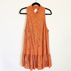 Free People Open Back Party Dress